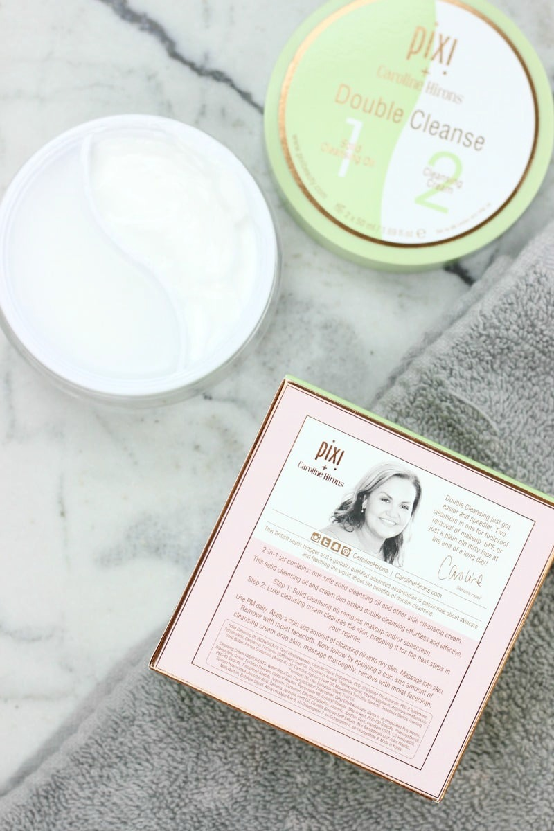 Pixi Double Cleanse Review | Pixi and Caroline Hirons Double Cleanse Review