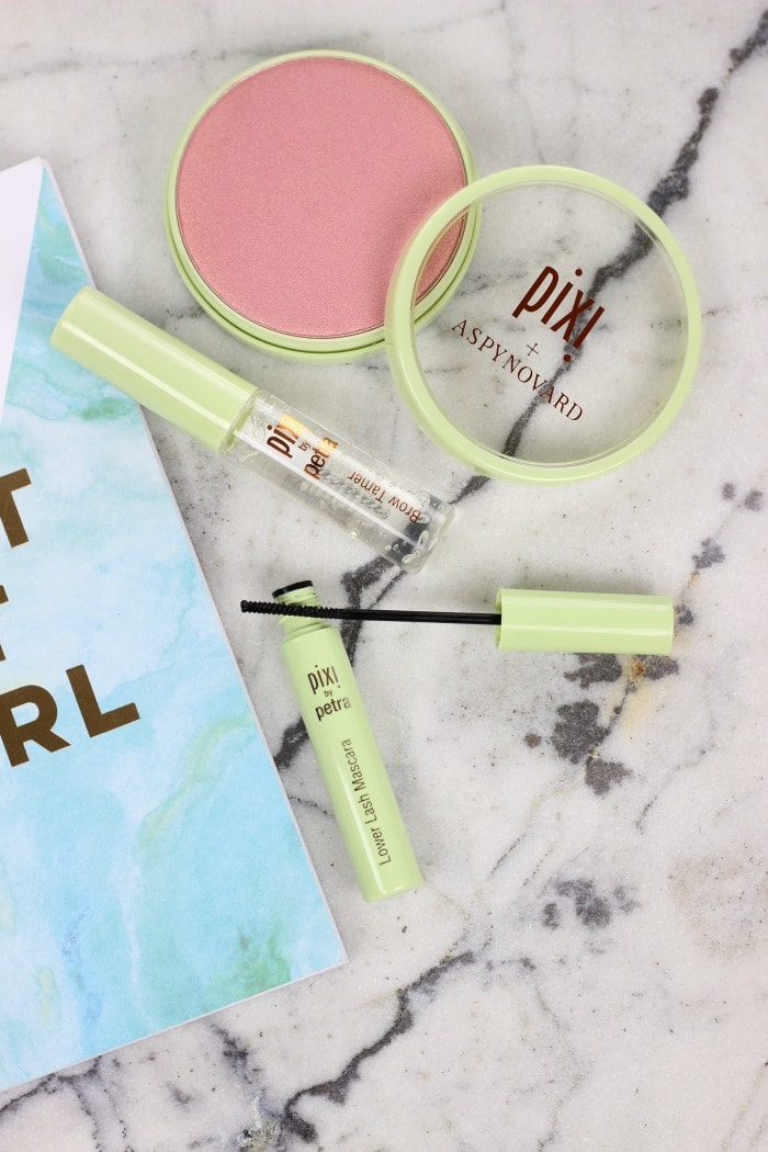 Pixi and Aspyn Ovard Lower Lash Mascara and Brow Tamer