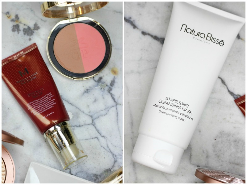 6 New Beauty Products I'm Loving Lately | Natura Bisse Stabilizing Cleansing Masque, Missha M Perfect Cover BB Cream, Pur Cosmetics Skin Perfecting Foundation Brush, Estee Lauder Heatwave, Estee Lauder Revitalizing Supreme Eye Gelee