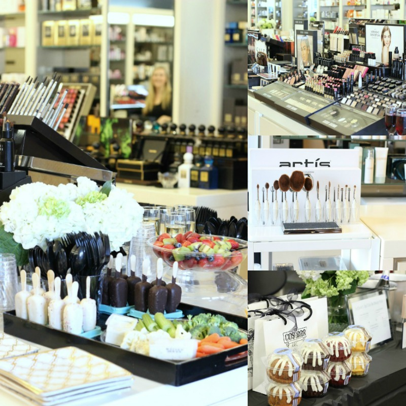 Cos Bar The Woodlands Beauty Party hosted by Brighter Darling Beauty Blogger