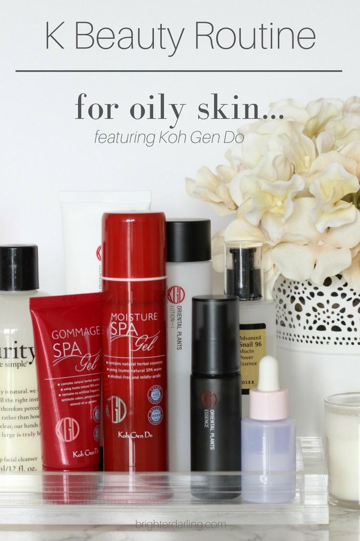 K Beauty Routine For Oily Skin | Koh Gen Do Review | Koh Gen Do Skin Care Routine | K Beauty
