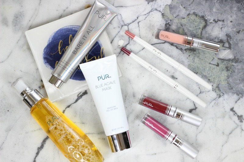 Trying Out Pur Cosmetics Review