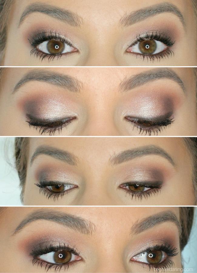 p Pressed Powder Shadows - Wake Up Call, Ringer, Conundrum, Cloud Nine | ColourPop Pressed Powder Shadows Makeup Look