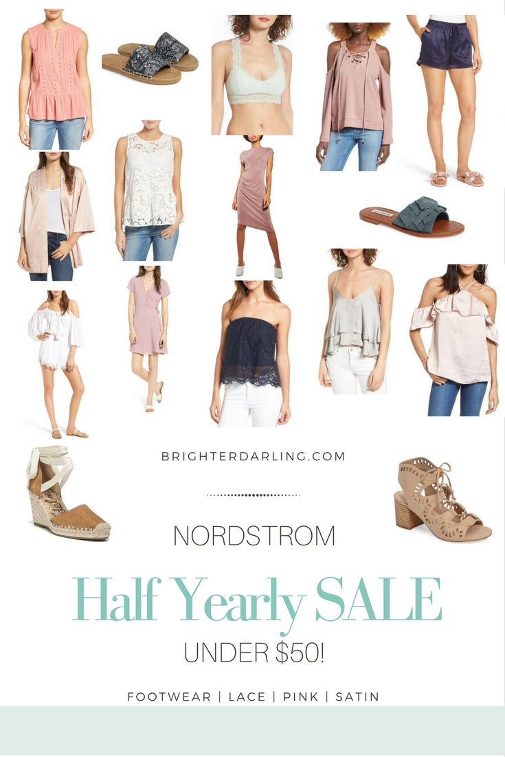 Nordstrom Half Yearly Sale Under $50 2017 | Cute Dresses Under $50 | Summer Outfits Under $50 | Nordstrom Half Yearly Sale Ideas