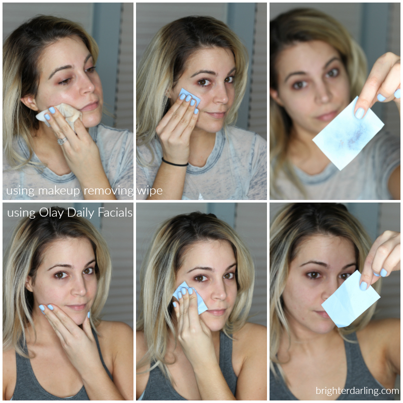 Olay Daily Facials Review Blot Test Using Makeup Removing Wipe vs Olay Daily Facials | Face Cleaner and Exfoliator for Oily Skin | Face Wash Tips | How To Wash Oily Face
