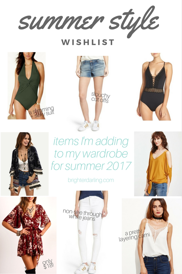 summer style wish list - what I ordered for summer style