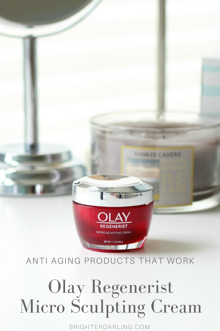 Olay Regenerist Micro Sculpting Cream Review - Anti Aging Products That Work - Affordable Anti Aging Skin Care #ad #ageless #olay