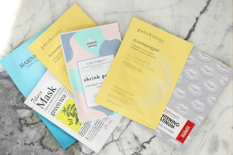 My Favorite Sheet Masks for Glowing Skin | Favorite Sheet Masks for Oily Dehydrated Skin | Best Sheet Masks to Try Now