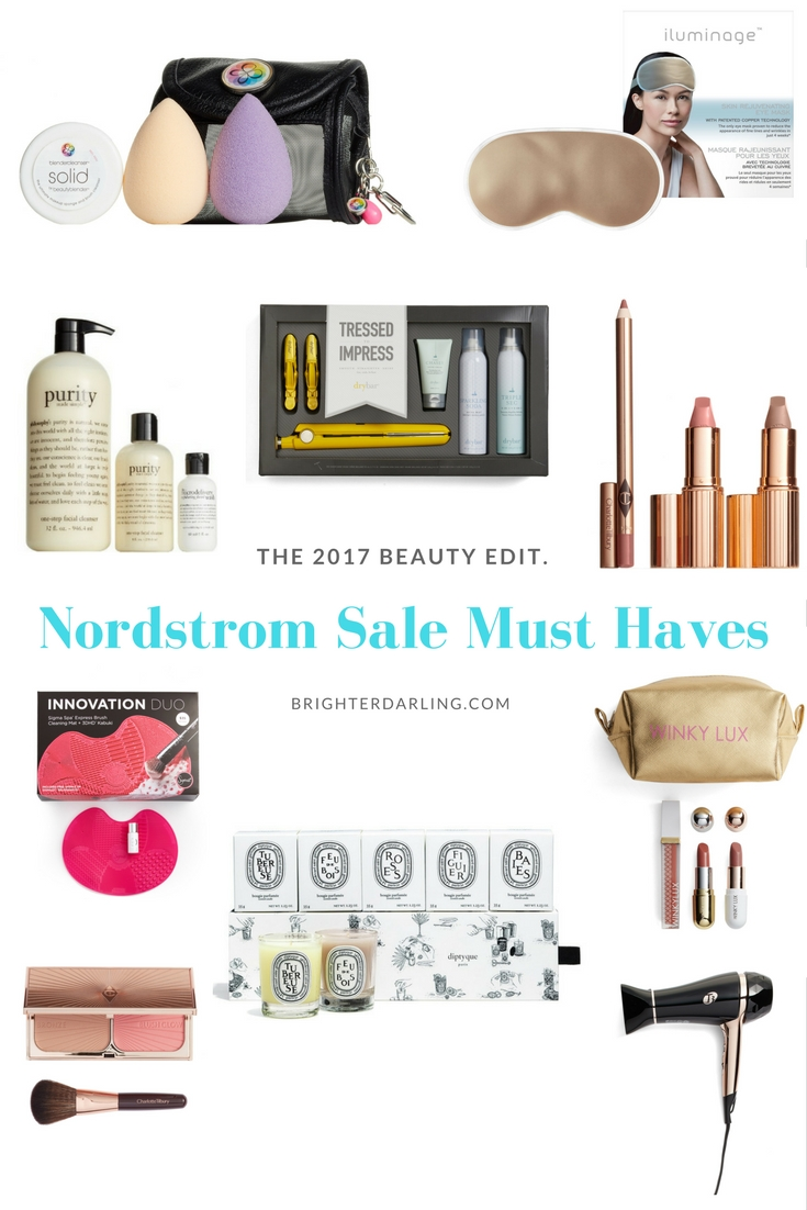 Nordstrom Sale Beauty Must Haves #NSale 2017