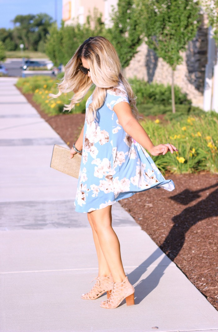 Summer Swing Dresses Shop The Mint | Marc Fisher Blush Pink Cage Suede Booties