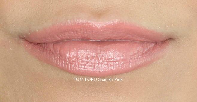 TOM FORD Spanish Pink Swatch on Medium Skin