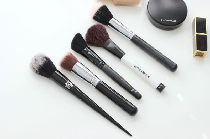 The Makeup Brushes I Use Daily | The Face Brushes I Use Daily For Flawless Makeup from Kat Von D, MAC, Sigma Brushes, Sonia Kashuk Brushes and ELF Brushes