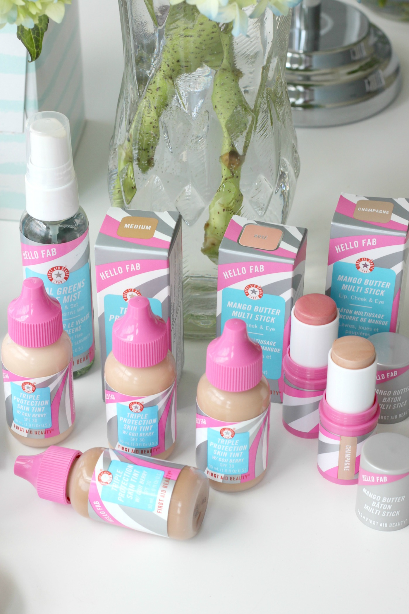 First Aid Beauty Hello FAB Collection Giveaway