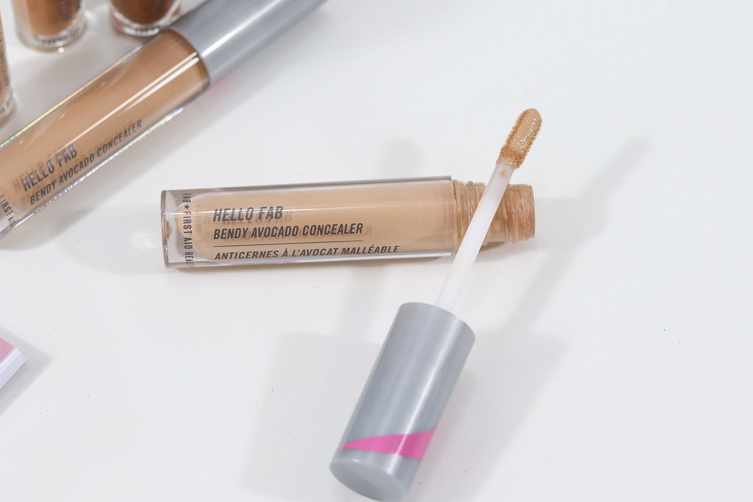 First Aid Beauty Hello Fab Bendy Avocado Concealer Review and Swatches | Brighter Darling Blog
