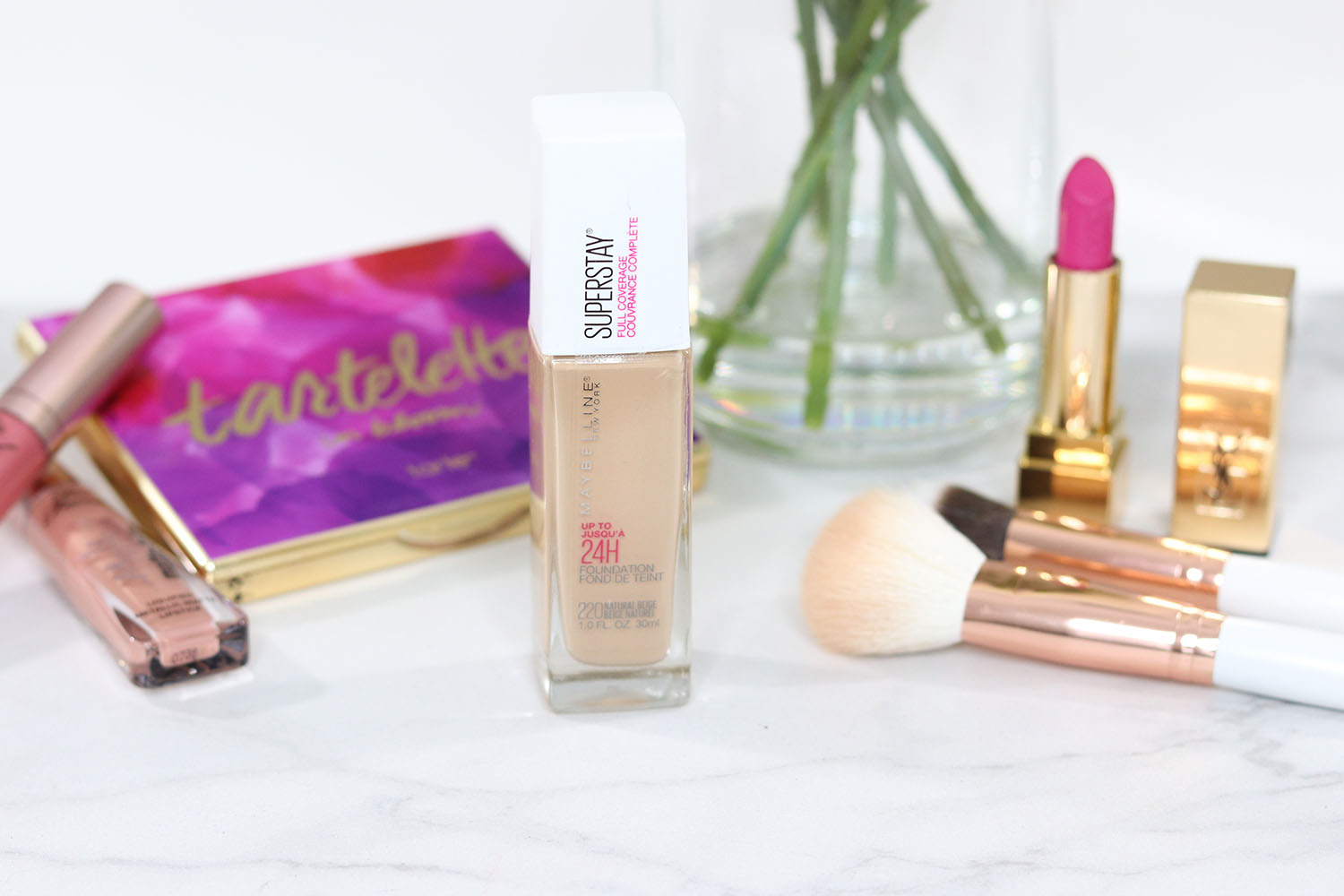 maybelline superstay foundation review and wear test on brighter darling | maybelline superstay foundation shade 220 | maybelline superstay foundation wear test