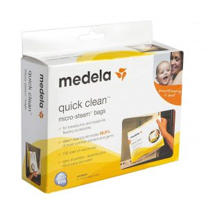 medela quick clean bags | newborn must haves to keep you sane