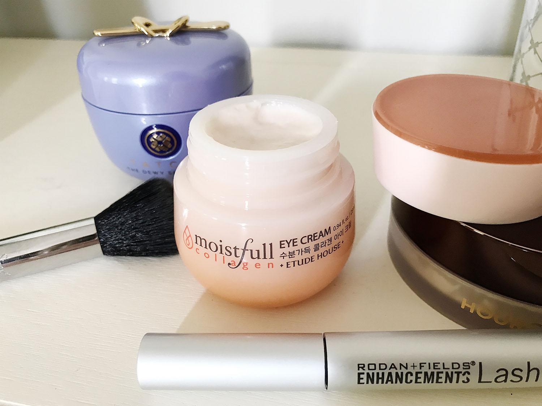 Plumping Eye Cream for Sunken Eyes | Collagen Based Eye Cream | May 2019 Beauty Favorites