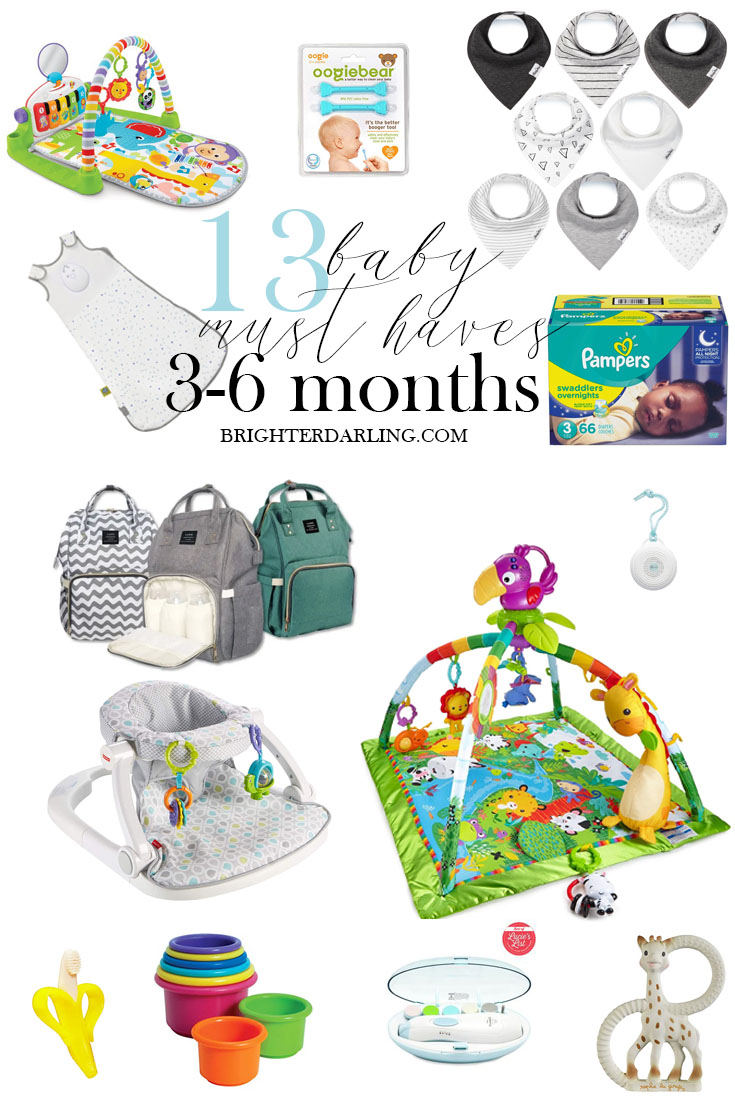 13 Baby Must Haves For 3 to 6 Month Olds | TOYS FOR 3-6 MONTH OLD BABY | BEST BABY MUST HAVES 3-6 MONTHS