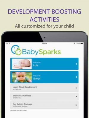 baby sparks app | baby must haves for 3-6 months