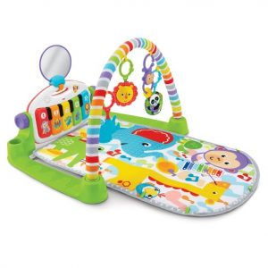 fisher price kick and play piano | 13 baby must haves for 3-6 months