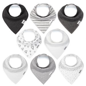 kiddy star bandana bibs | 13 baby must haves for 3-6 months