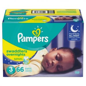pampers swaddlers overnights | 13 baby must haves for 3-6 months