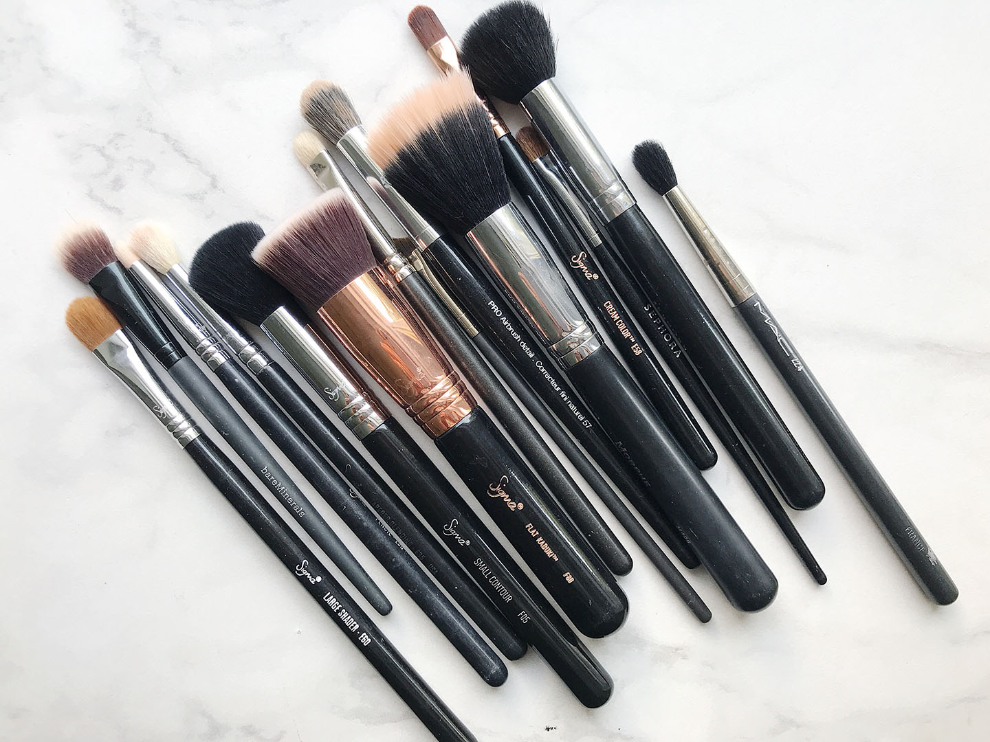 All Of My Favorite Makeup Brushes by Brighter Darling