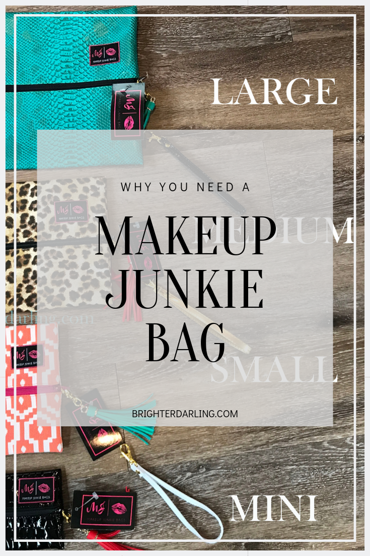 Makeup Junkie Bags Review and Video Brighter Darling
