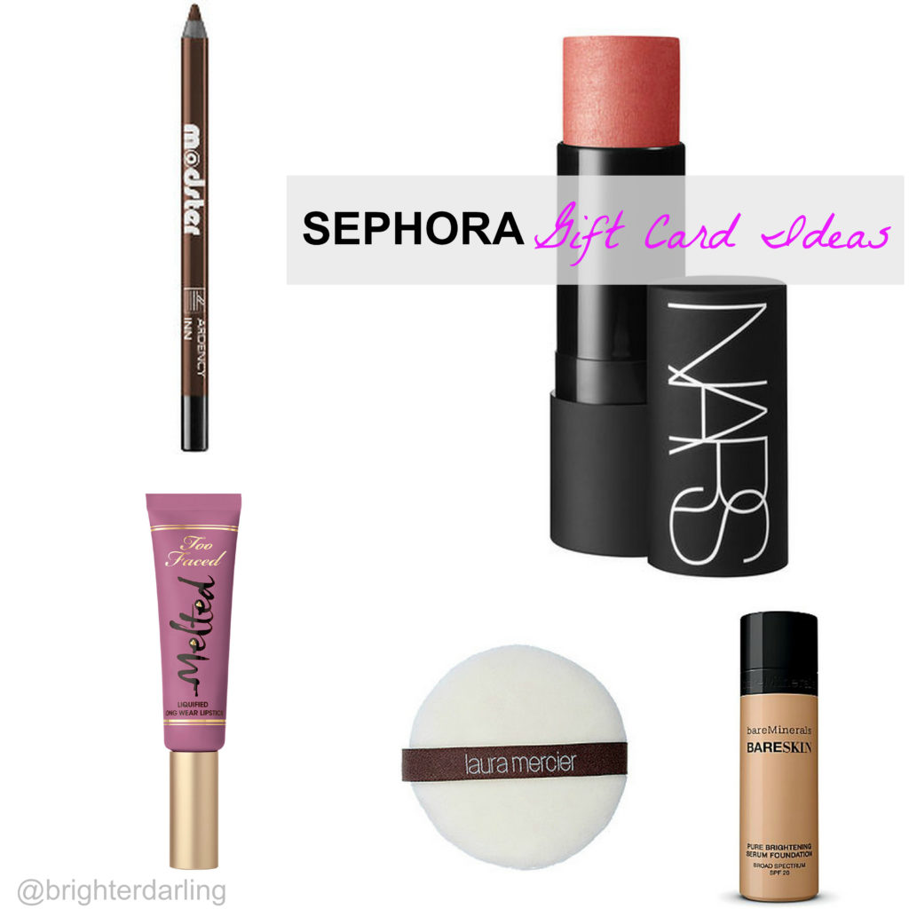 Sephora Gift Card Ideas