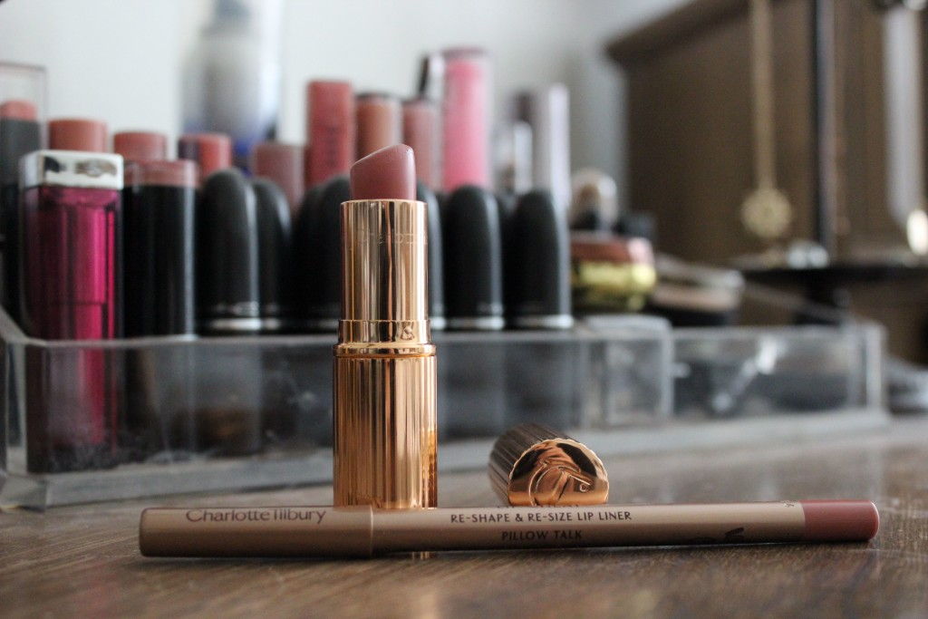 Charlotte Tilbury Bitch Perfect and Pillowtalk Review