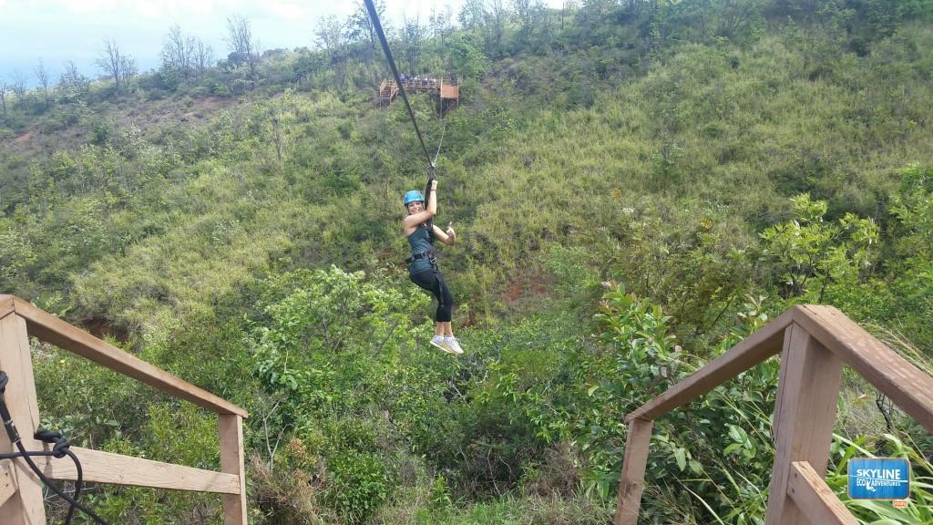 Skyline Eco Tours Zipline Maui