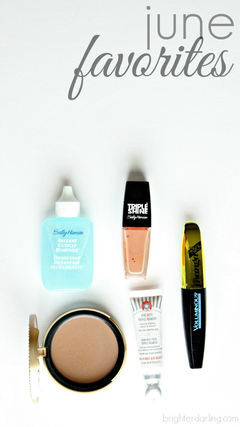 June 2015 Makeup Favorites | Brighterdarling.com