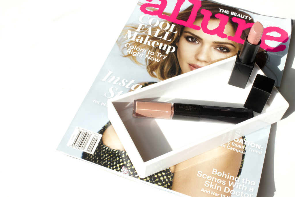 fall lipstick 2015 NARS Audacious Barbara Loreal Neverending Nutmeg