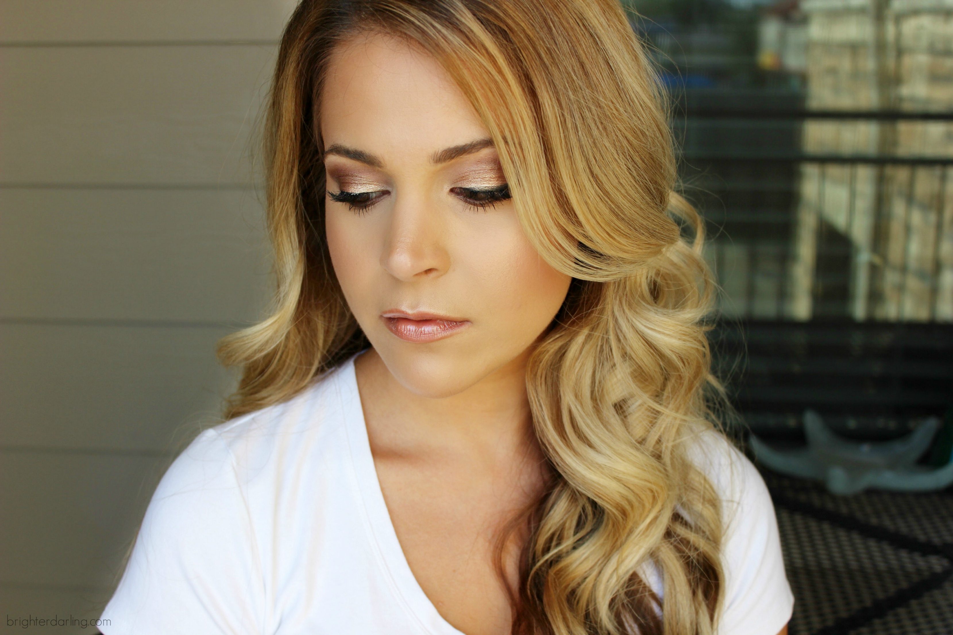 BrighterDarling.com Fall Bronze Glow Makeup
