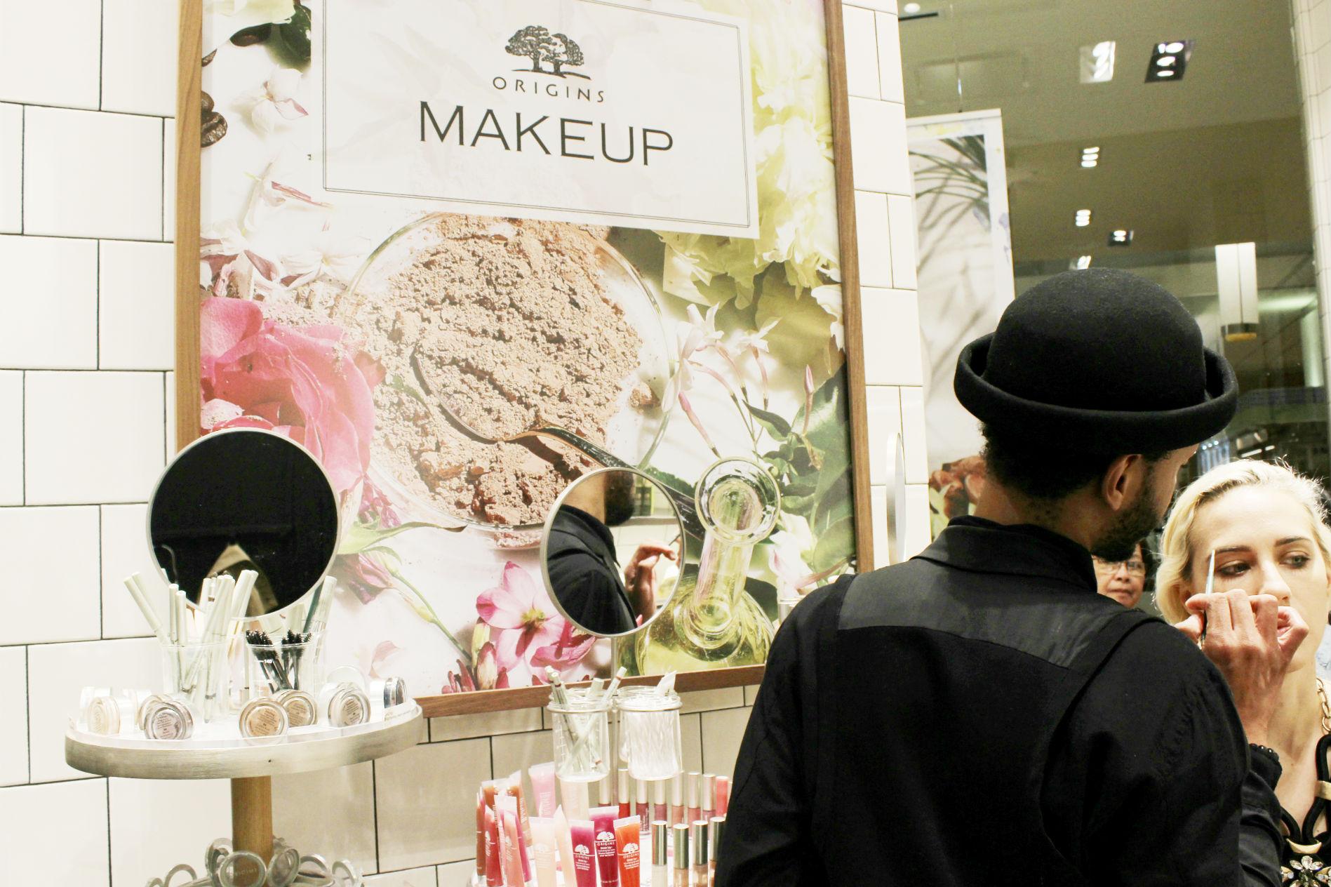 Origins Houston Galleria Makeup | Brighterdarling.com