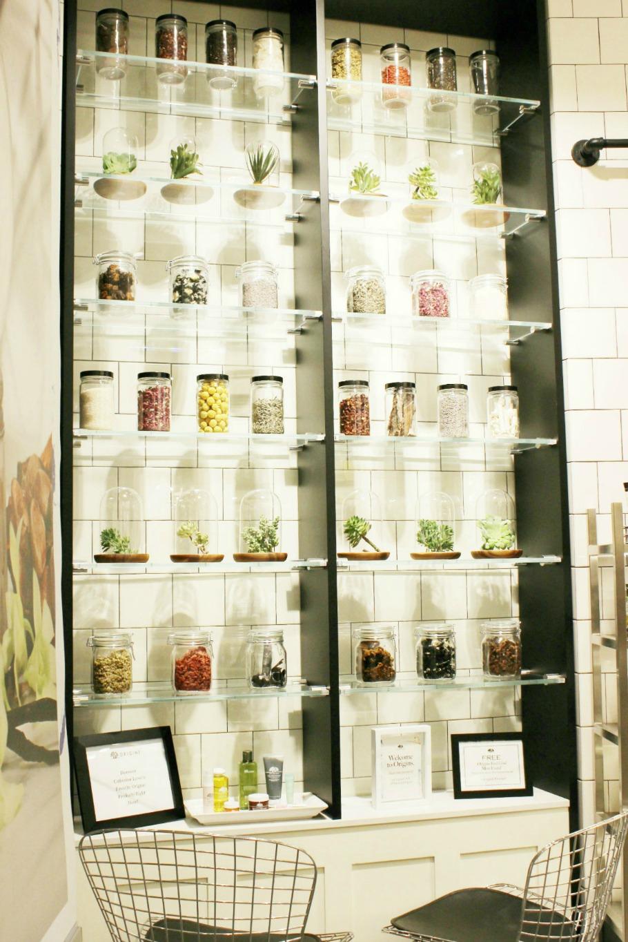 Houston Galleria Origins Store Re-Opening | Brighterdarling.com