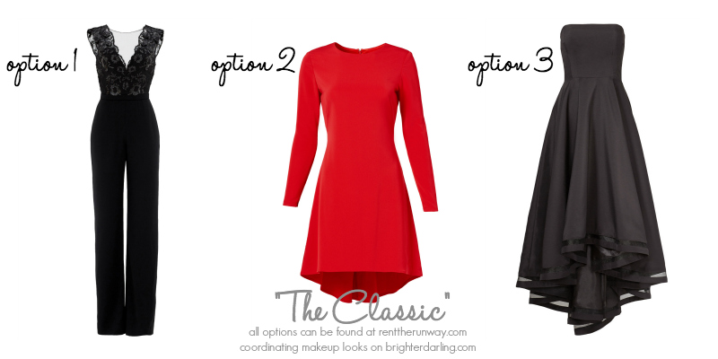 Holiday Outfits for a Red Lip on RentTheRunway.com