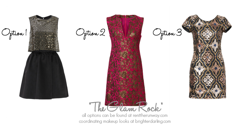 Holiday Makeup Outfits for a Smokey Eye RentTheRunway.com MAC Club