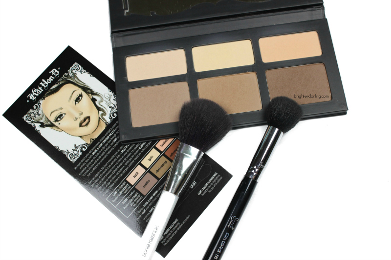 Kat Von D Shade Light Contour Palette Review and Tutorial for Contouring in Under 2 minutes