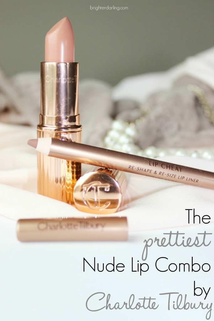 Best Nude Lip for Medium Olive Skin Charlotte Tilbury Nude Kate Iconic Nude