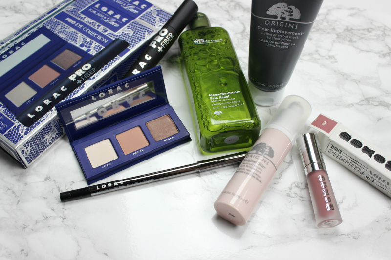 Brighterdarling.com blog beauty giveaway valued at over $200 worth of makeup from Lorac, Buxom and Origins.