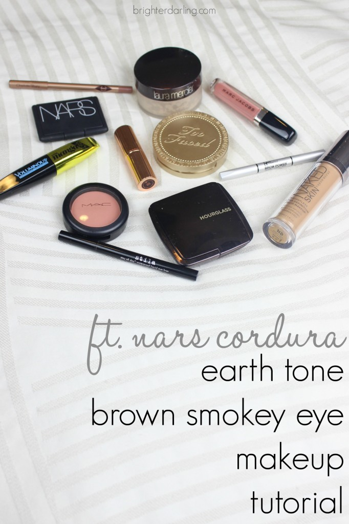 Earth Tone Brown Smokey Eye Zodiak Sign Makeup Earth NARS Cordura MAC Melba Marc Jacobs Pretty Thing