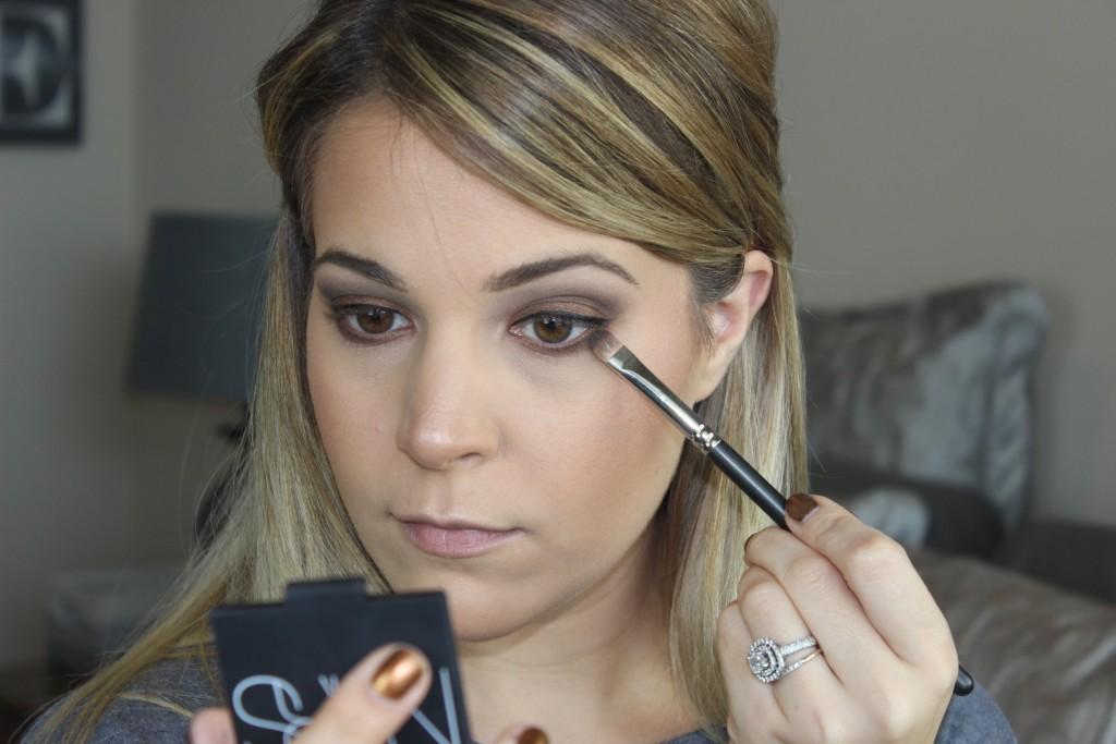 NARS Cordura Makeup Look