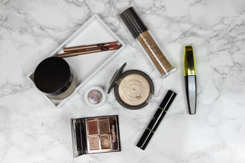 A top list of beauty favorites and most recommended items from Laura Mercier, Charlotte Tilbury, L'Oreal, Urban Decay, Lancome, Becca and ColourPop cosmetics.