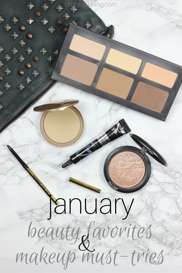 My January beauty favorites will give you a flawless face and a must-try drugstore eyeliner on brighterdarling.com