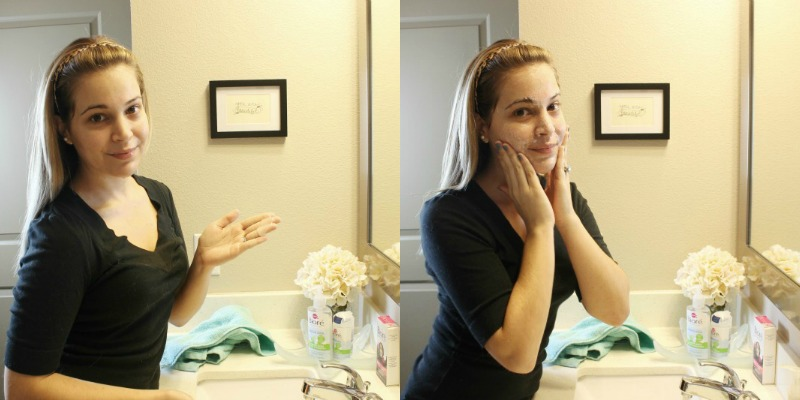 Get Unready With Me using Biore Baking Soda Cleansing Scrub on brighterdarling.com. Great for combination skin!