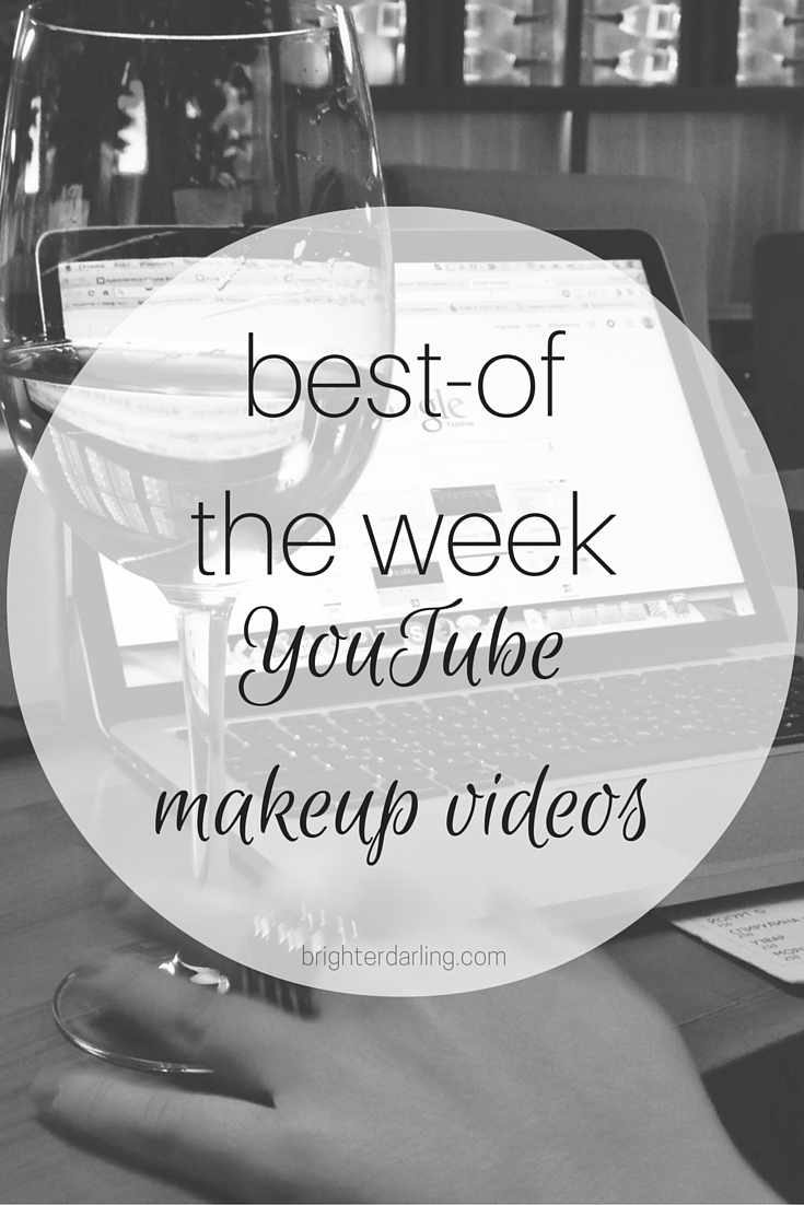 My favorite Makeup Videos on YouTube this week are by Jordan Liberty, Hot and Flashy and Jamie Paige Beauty. Check them out on brighterdarling.com.