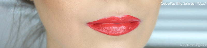 ColourPop Ultra Satin Lip Cozy swatch