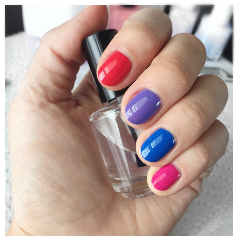 4 Bright Nail Polishes To Try For Summer | OPI Cajun Shrimp, Wet n Wild On A Trip, OPI My Pal Joey, Julie G Damsel nail polish swatches