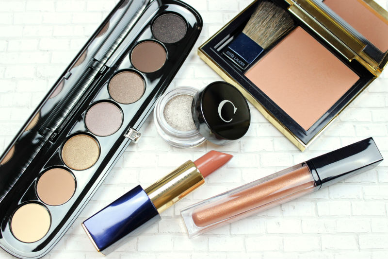 High End Makeup Haul | Marc Jacobs Social Butterfly Eyeshadow Palette, Chantecaille Triton, Estee Lauder Discreet Lipstick, Estee Lauder Sensuous Rose Blush